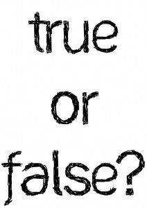 True or False - Nashville TN - East End Chiro