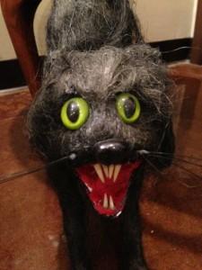BEWARE! Scaredy Cat truly is creepy.